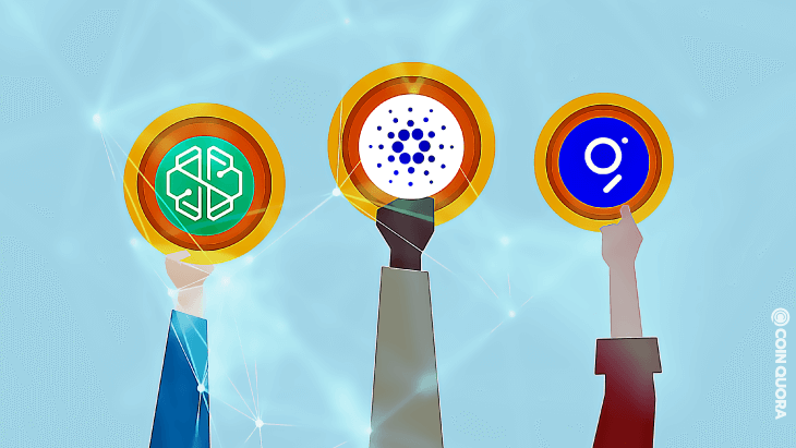 Top Altcoins of the Day ADA, GRT, and CHSB
