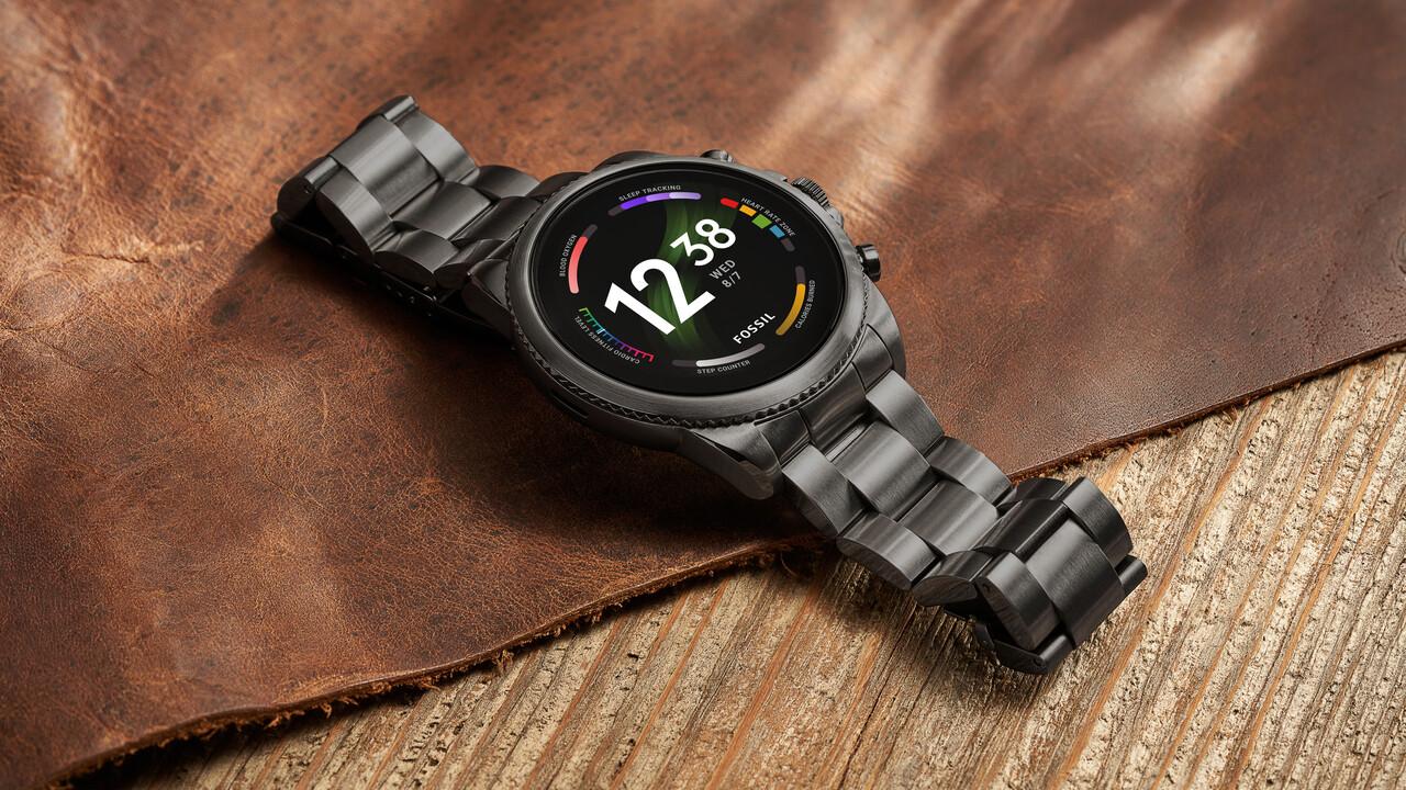 Relojes inteligentes de Fossil Group: Gen 6 usa el nuevo Snapdragon Wear 4100+ y el antiguo Wear OS