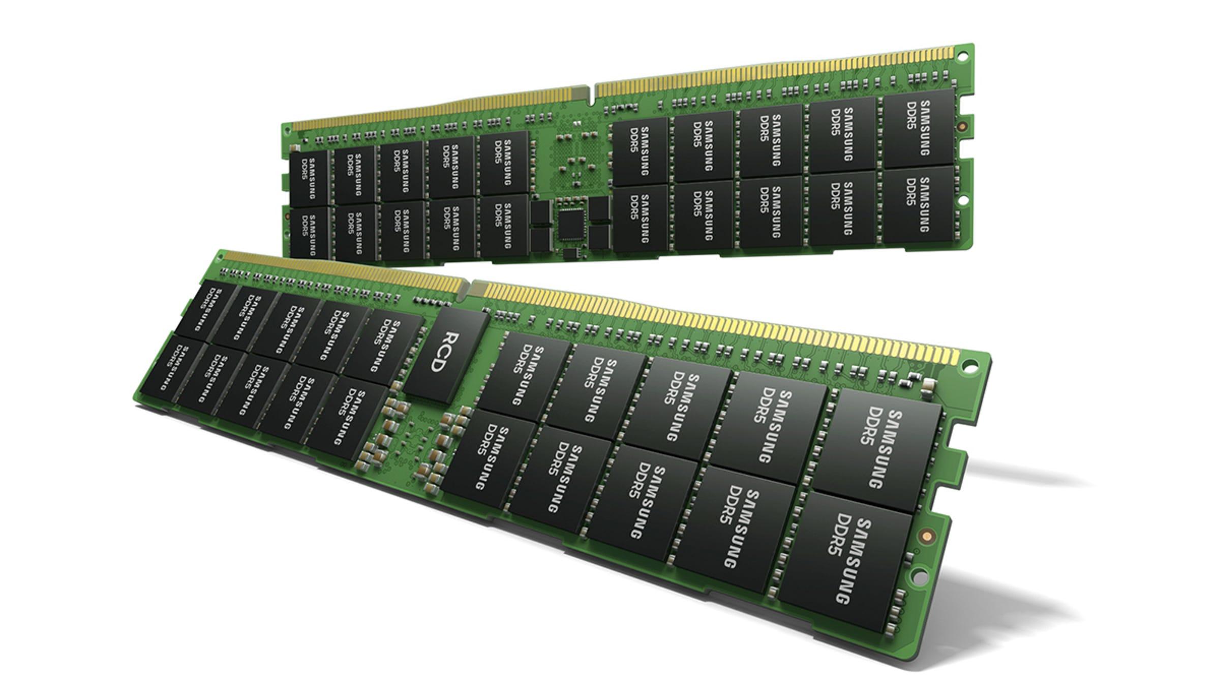 Samsung se burla de los módulos RAM DDR5 de 512 GB absurdamente rápidos