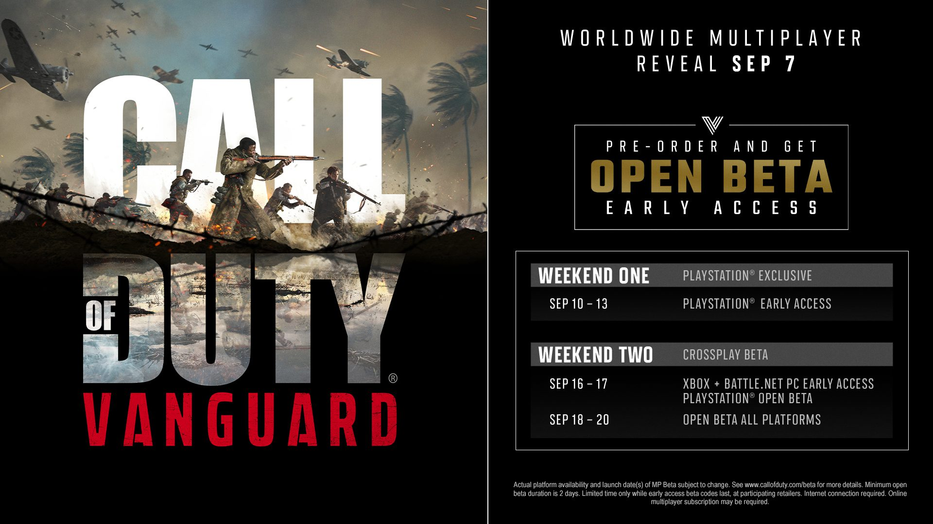 Beta abierta de Vanguard