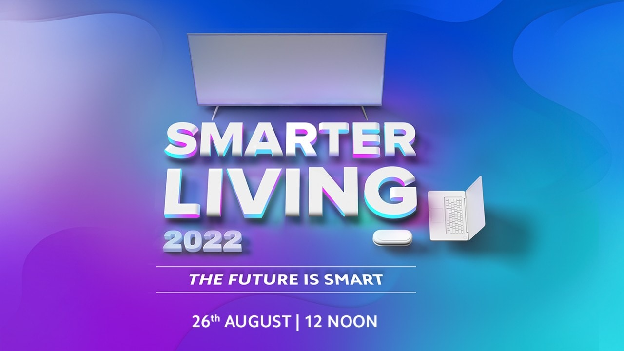 Póster de Xiaomi Smarter Living.  Crédito de la imagen: Xiaomi