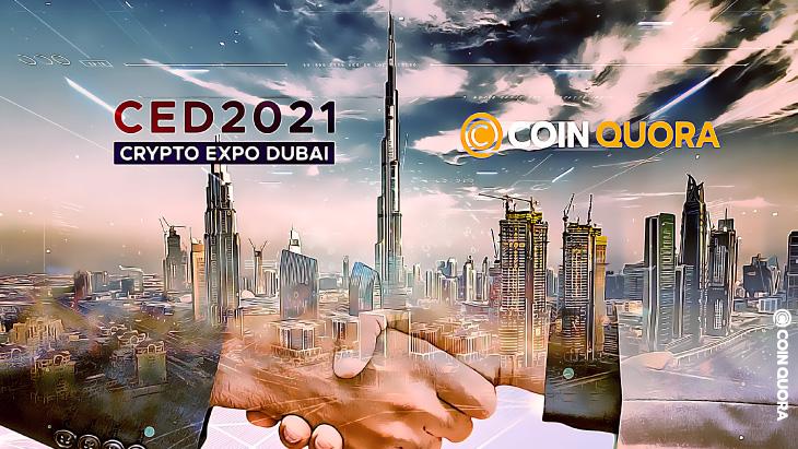 Breaking: Crypto Expo Dubai 2021 Partners With CoinQuora