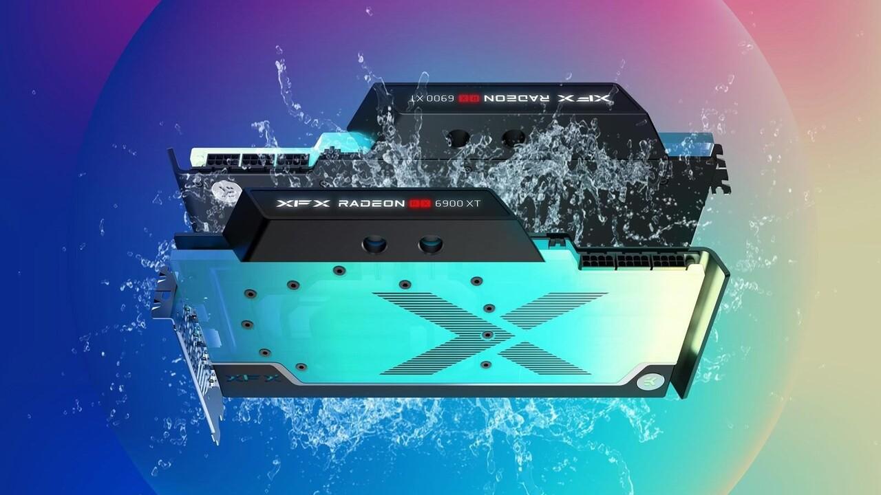 XFX Radeon RX 6900 XT Zero WB: AMD Navi 21 con mucho ARGB y enfriador de agua de EKWB
