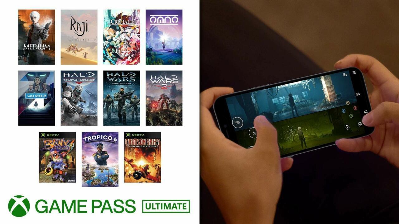 11 títulos más de Game Pass ahora admiten controles táctiles