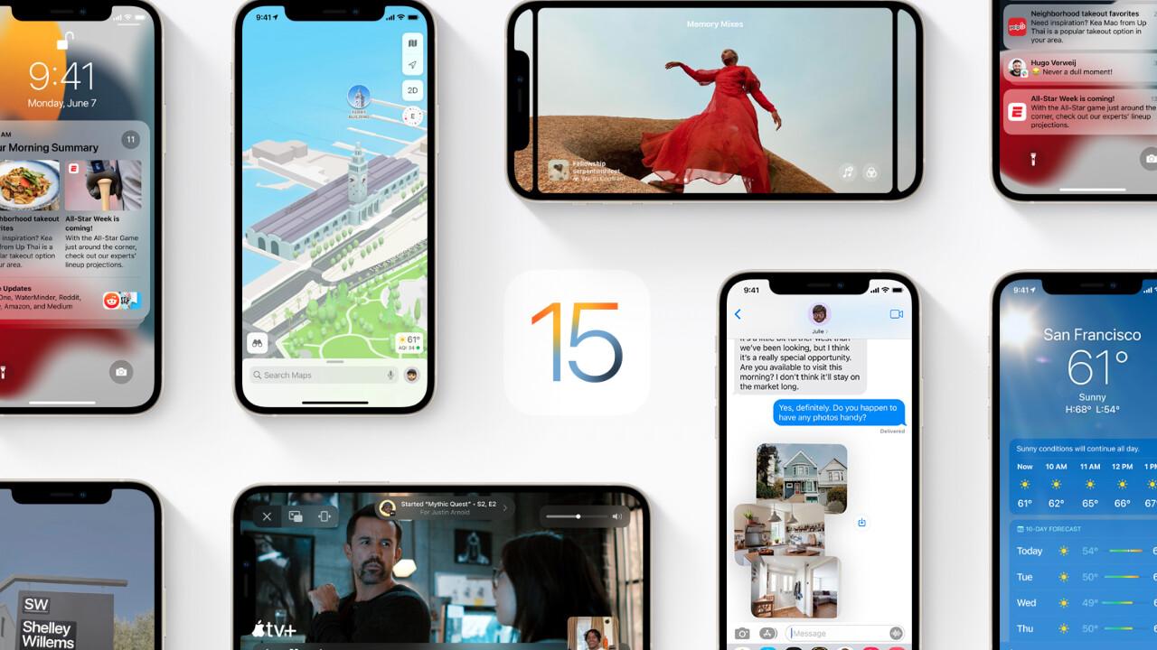 Apple: Updates auf iOS 15, iPadOS 15 & watchOS 8 in sechs Tagen