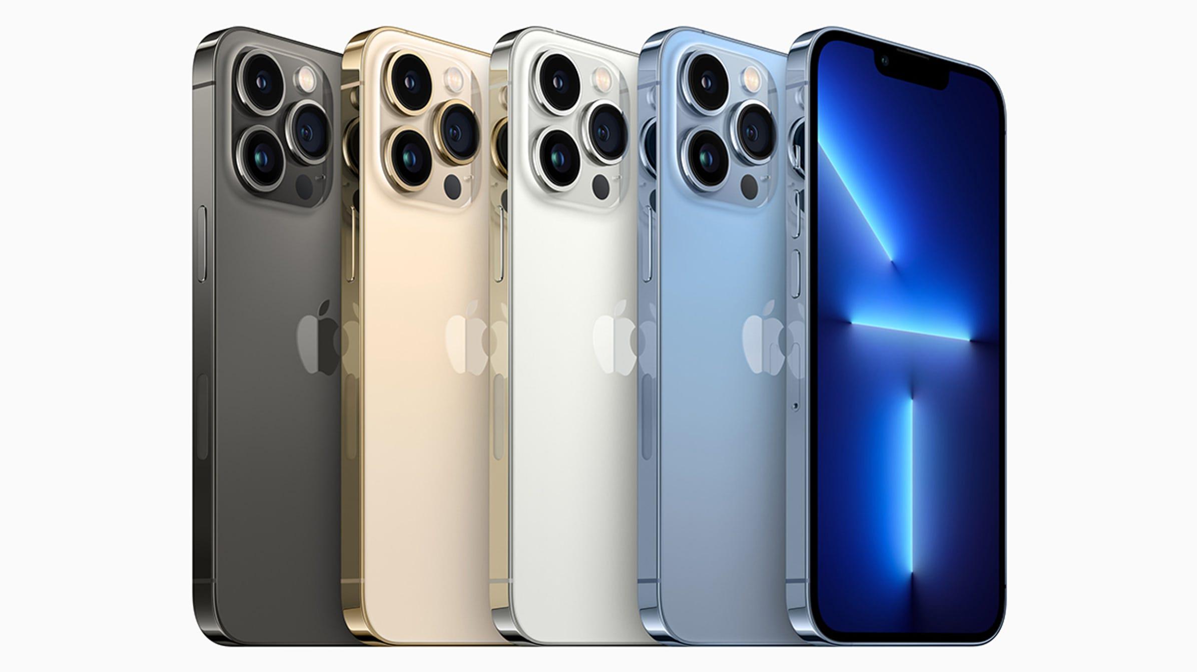 La pantalla del iPhone 13 Pro se ajusta según cómo lo esté usando