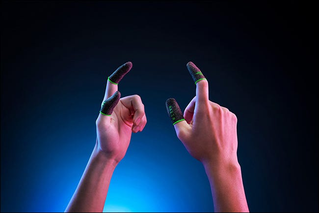 Fundas para dedos Razer Gaming