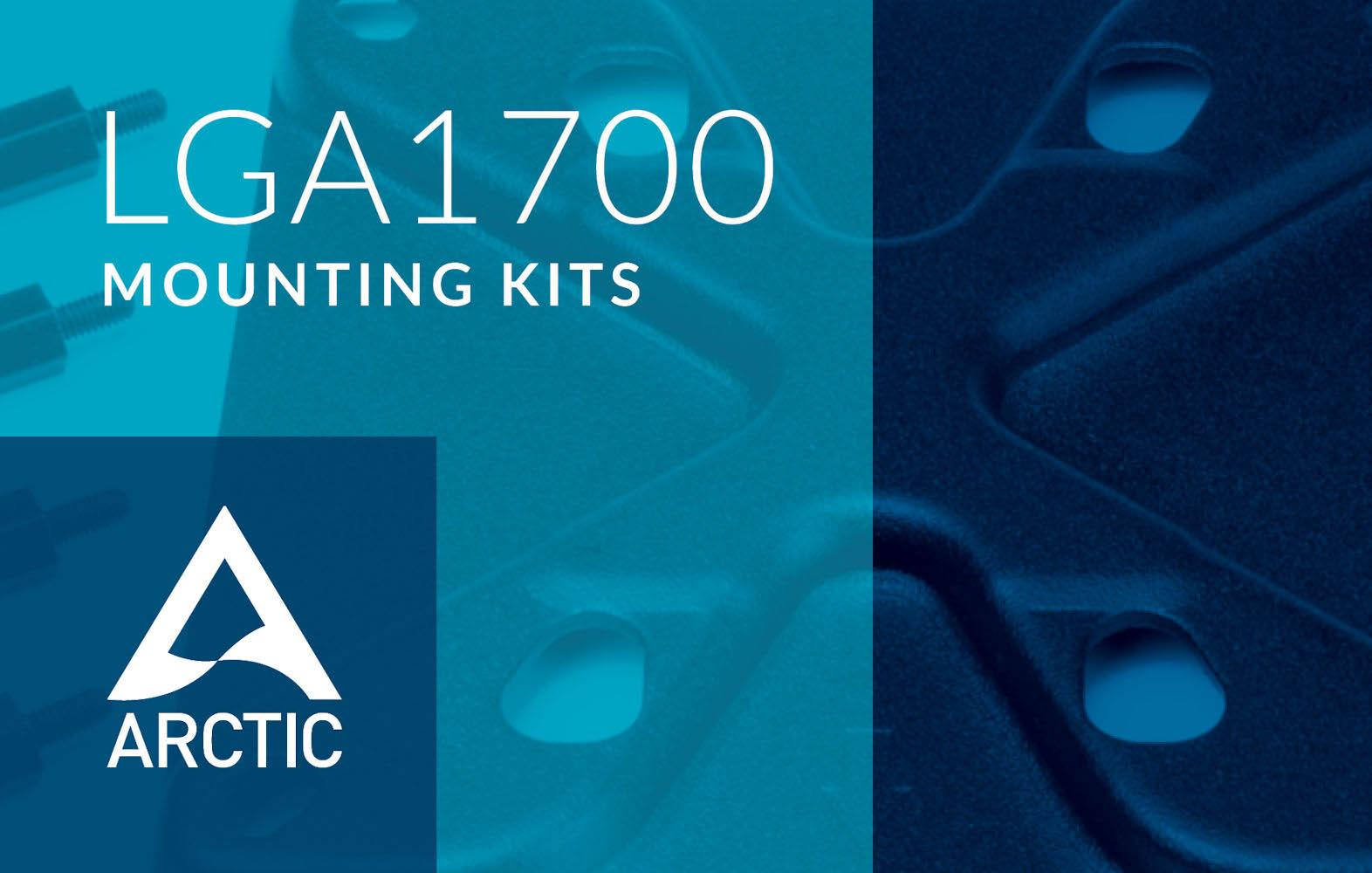 Los kits de montaje Intel LGA1700 de Arctic para CPU Alder Lake estarán disponibles a mediados de octubre