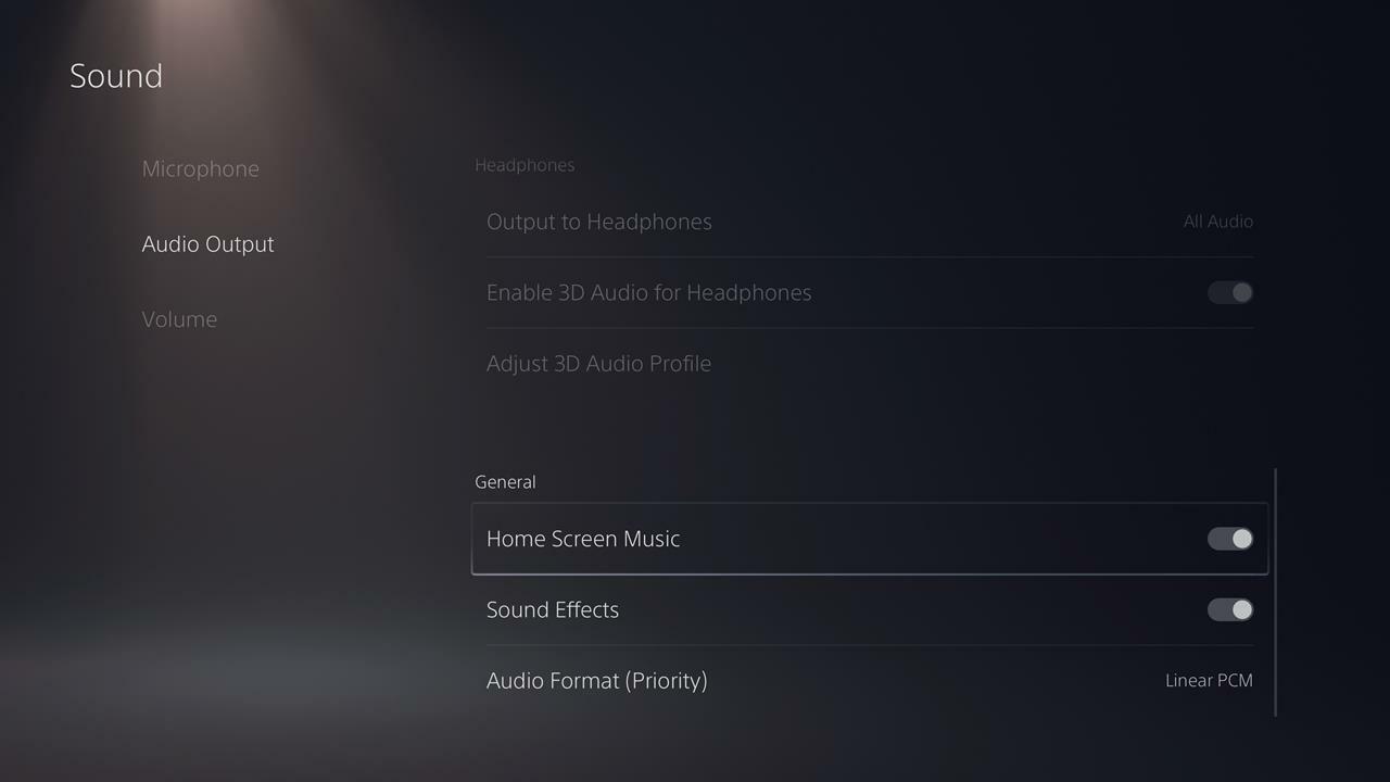 Cómo desactivar la música de fondo y los efectos de sonido en PS5