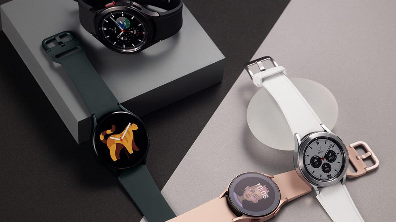Galaxy Watch Serie 4.