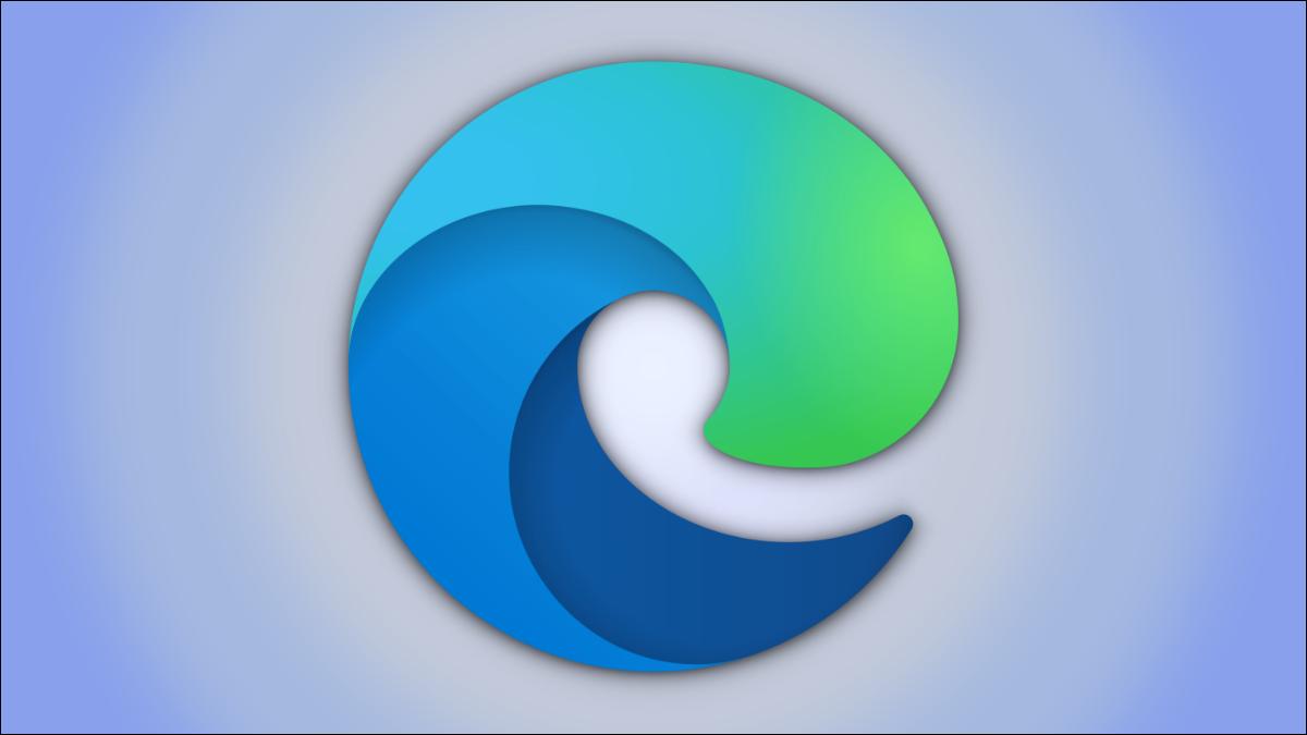 Un logotipo del navegador Microsoft Edge
