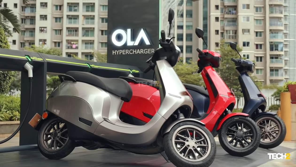 Para hacer que el S1 sea más accesible, Ola Electric ha ideado un plan financiero que fija el monto de EMI en Rs 2.999.  Imagen: Ola Electric