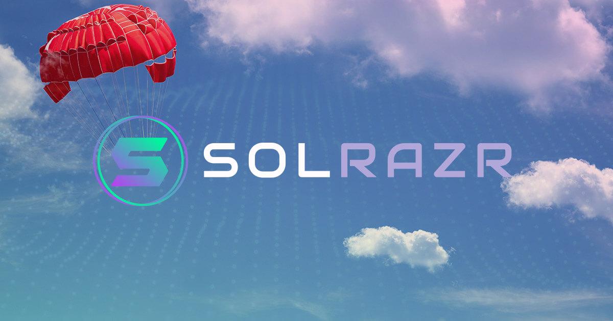 Solana DeFi tool SolRazr announces SOLR airdrop ahead of IDO and whitelist