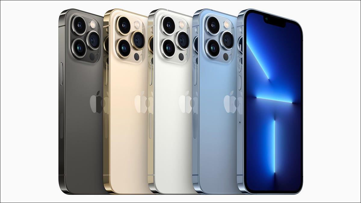 Colores del iPhone 13 Pro