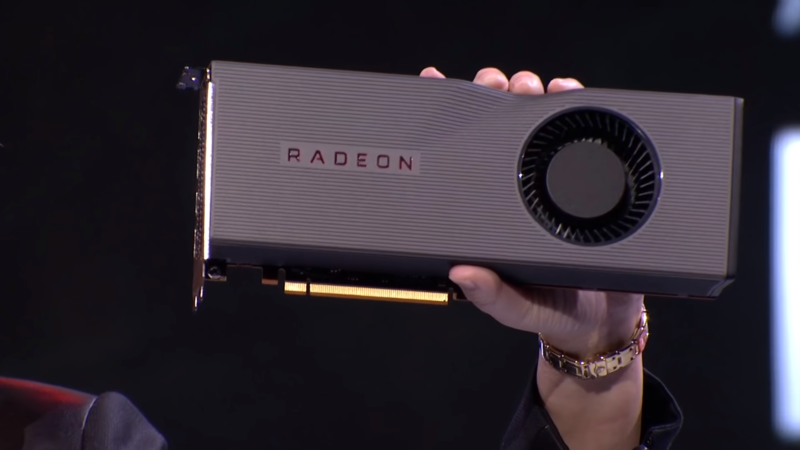 Diapositivas de la serie AMD Radeon RX 5700