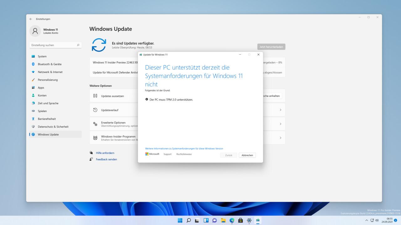 Keine Updates für Windows 11: Microsoft schließt PCs ohne TPM 2.0 von Anfang an aus