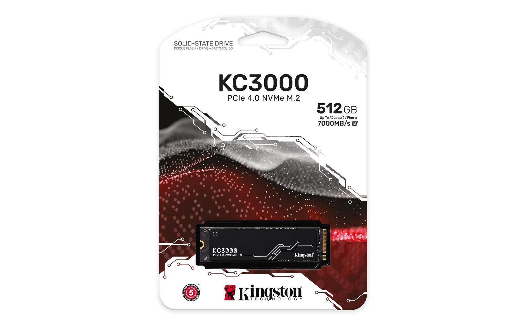 Unidad SSD Kingston KC3000
