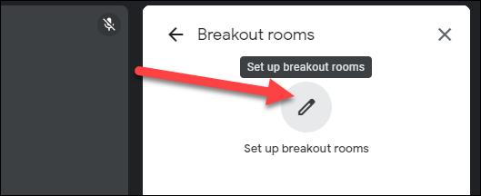 """Hacer clic """"Configurar salas de reuniones."""""""