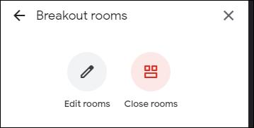 Opciones en habitaciones.