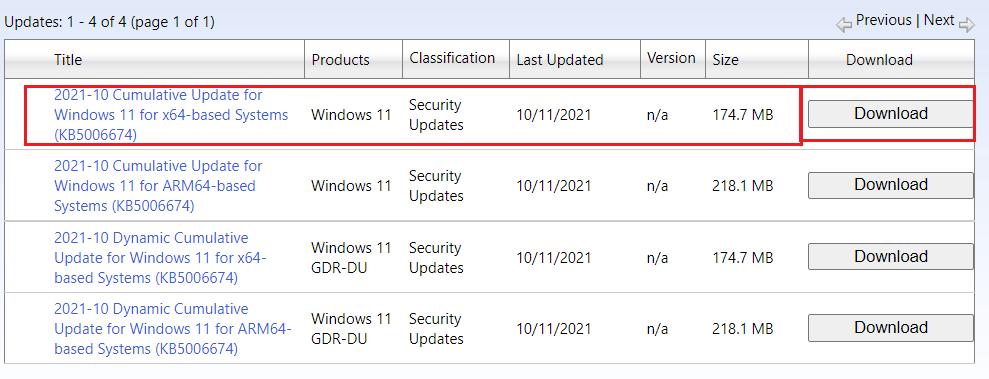 Windows 11 descargar actualizaciones en línea