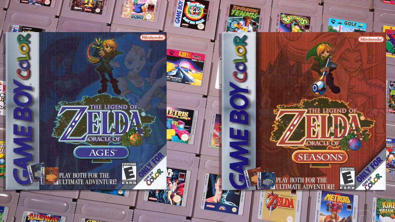 La leyenda de Zelda: Oracle of Ages y Oracle of Seasons