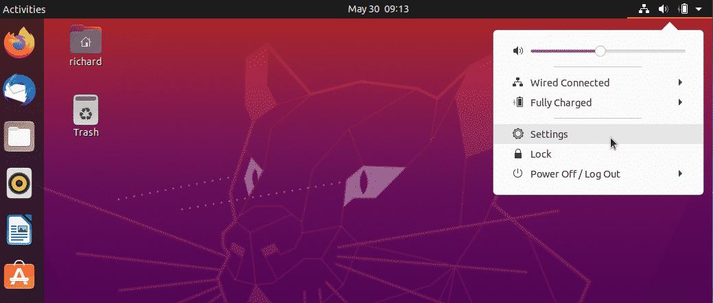 creación de nuevo usuario de ubuntu