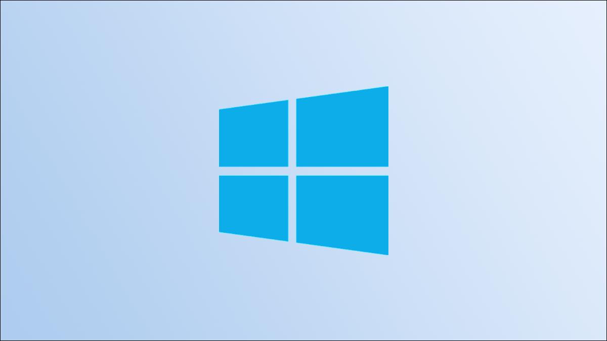 Héroe del logotipo de Windows 10