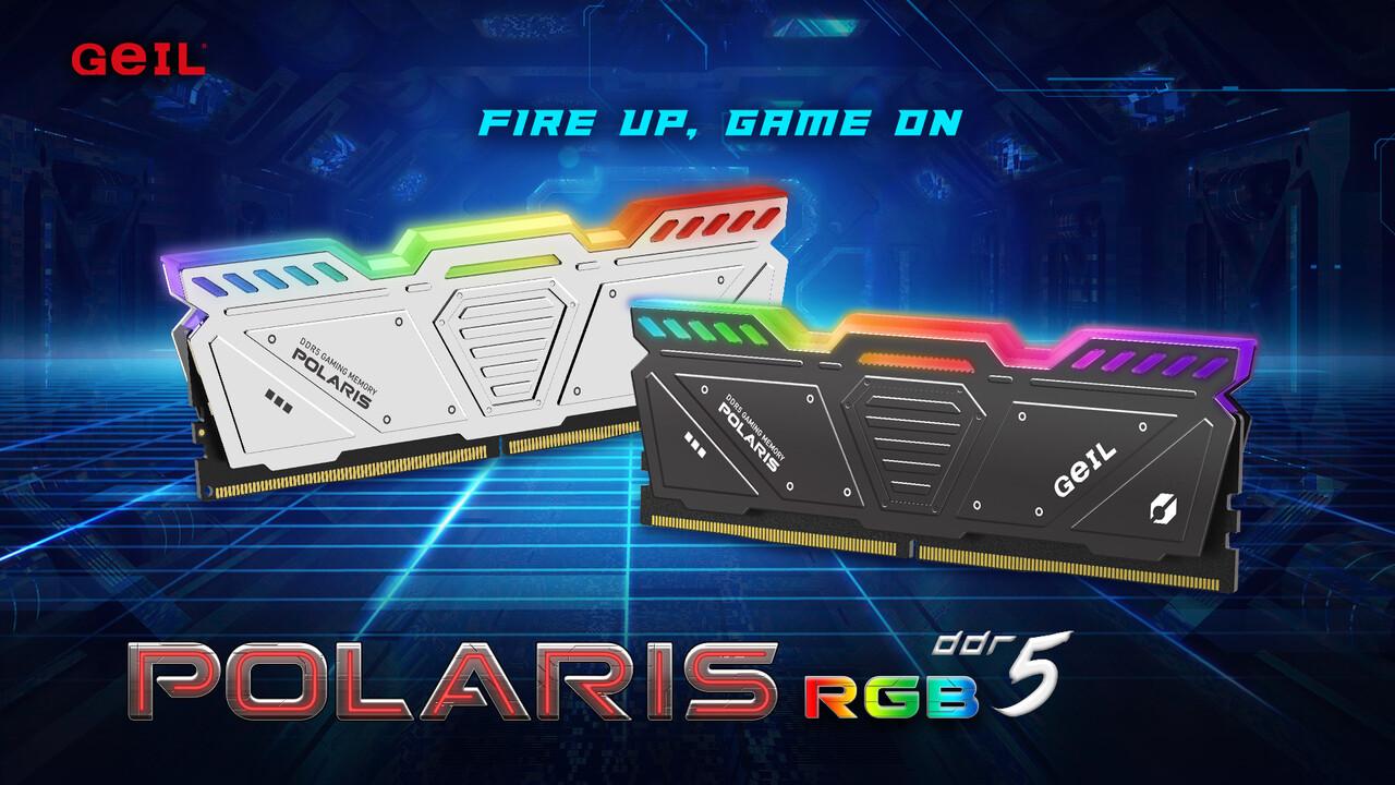 GeIL Polaris RGB: kits de memoria con hasta 32 GB y DDR5-5600 lanzados