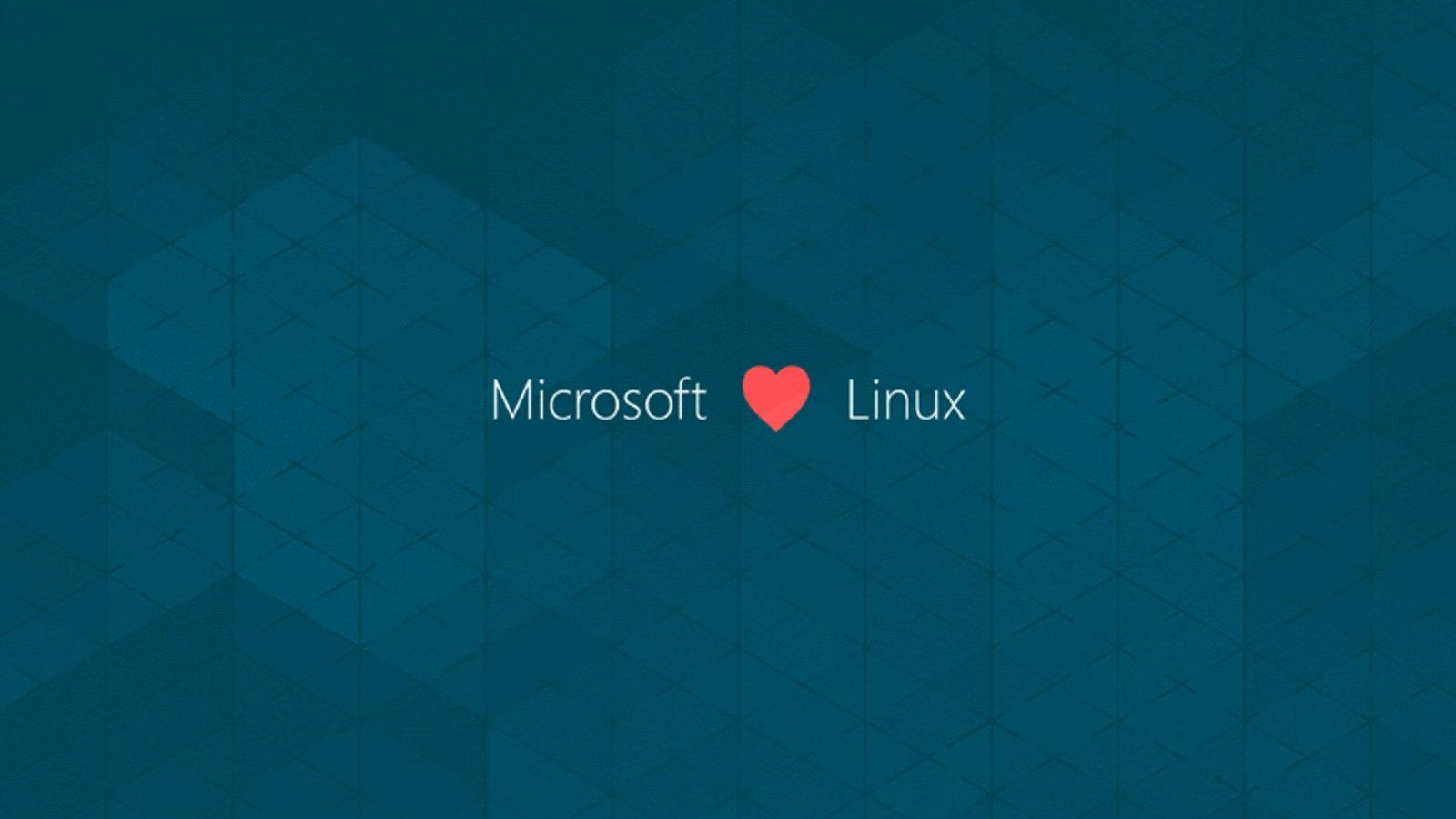 Microsoft ama el encabezado de Linux