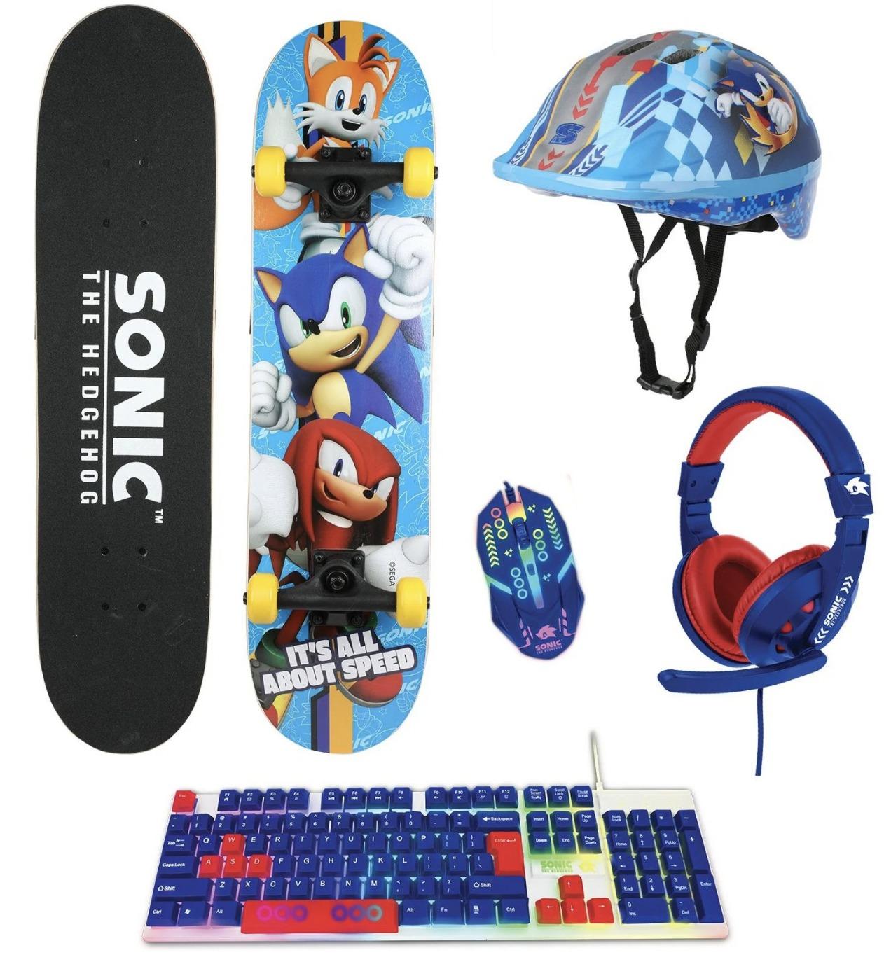 Sega y Sakar Sonic the Hedgehog se comercializan como una patineta a partir del otoño de 2021